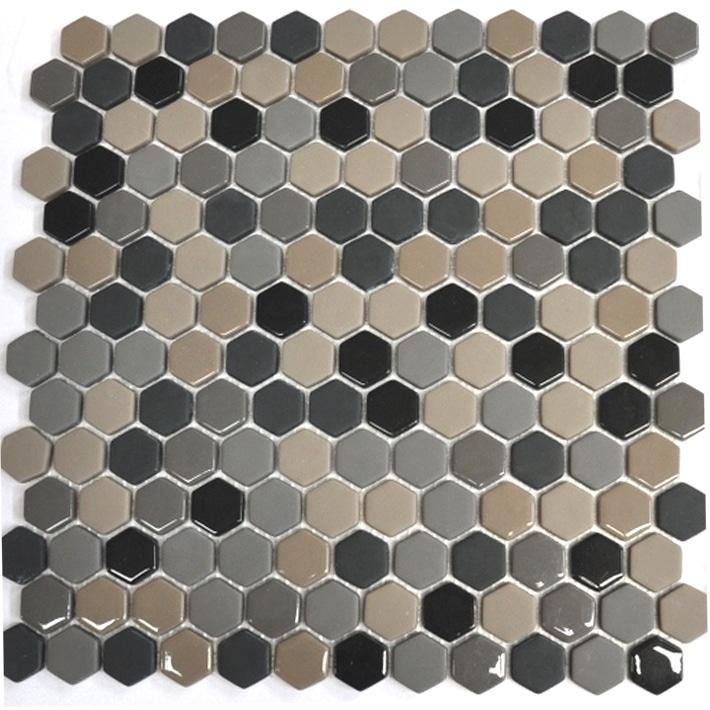 Enameled Hexagon